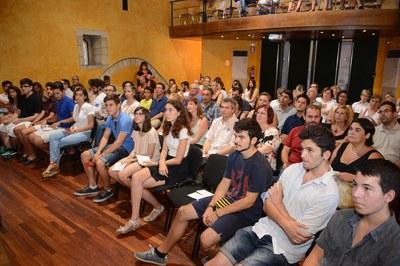 L'acte s'ha fet a l'auditori del MMUC (foto: Localpres)