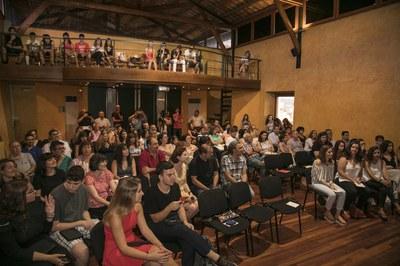L'acte ha reunit a alumnes, professors i famílies al Castell (foto: Localpres)