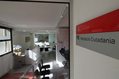El Servei de Mediació Ciutadana es troba ubicat al carrer Maria Aurèlia Capmany (foto: Localpres).
