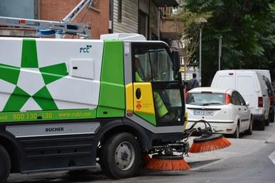 El nou vehicle amb aigua a pressió funcionarà en torn de tardes, de dilluns a dissabtes, fins a finals d'any.