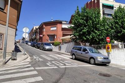 La primera fase de les obres s'executarà en un tram del carrer de la Pastora (foto: Ajuntament de Rubí).
