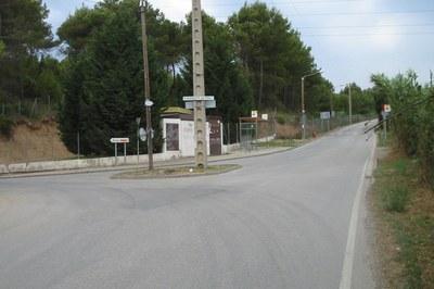 Durant l'execució d'aquestes tasques es donarà pas alternatiu en un tram de la carretera d'Ullastrell.