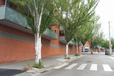 Un dels espais on s'actuarà serà al carrer d'Iriarte, al Sector Z.