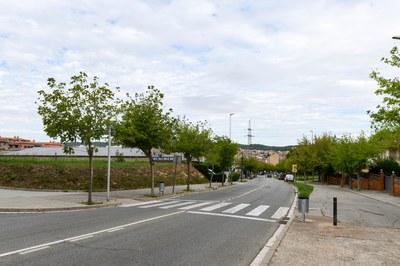 Els dos solars s'ubiquen a tocar de l'av. Castellbisbal (foto: Ajuntament de Rubí – Localpres).