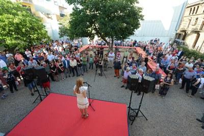L'alcaldessa s'ha adreçat a les entitats (foto: Localpres)