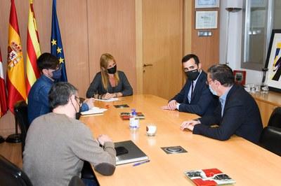 La trobada s'ha celebrat al Consistori rubinenc (foto: Ajuntament de Rubí – Localpres).