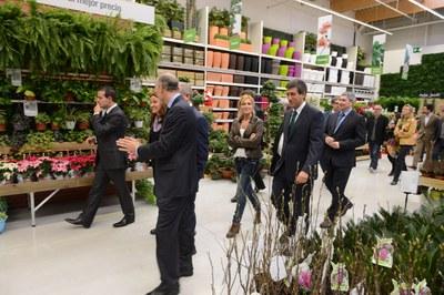"""La zona de """"garden"""" és una de les novetat d'aquesta botiga (foto: Localpres)"""