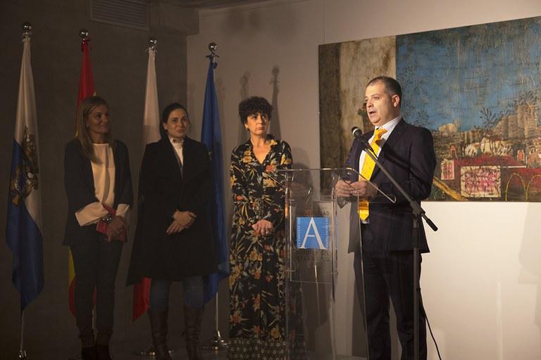 Inauguració de l'exposició d'Anna Tamayo (foto cedida)