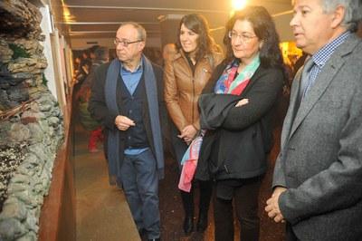 L'exposició 'Diorames de Nadal' s'ha inaugurat aquest diumenge a l'Espai expositiu Aula Cultural (foto: Localpres).