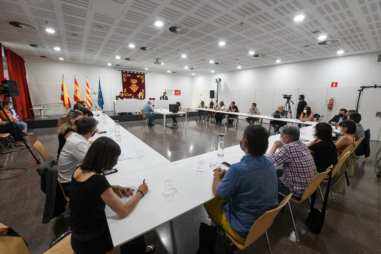 Imatge del ple (foto: Ajuntament de Rubí - Localpres)