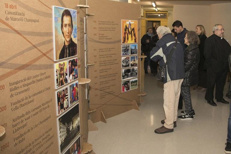 Part històrica de l'exposició (foto: Localpres)