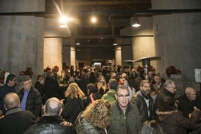 Les entitats a El Celler (foto: Ajuntament de Rubí - Lali Puig)