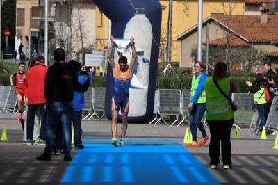 Ivan Limia ha estat el primer a creuar la línia de meta (foto: Localpres)