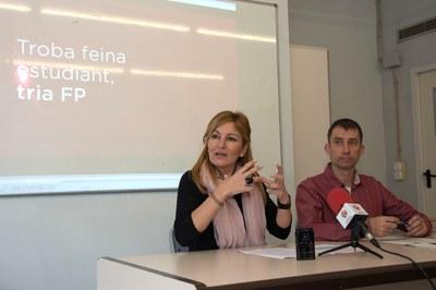Un moment de la presentació que ha tingut lloc a l'edifci Rubí Forma (foto: Localpres).