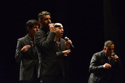 L'acte ha comptat amb actuacions musicals (foto: Localpres)