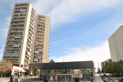 Actualment, Rubí només disposa d'una única estació de Ferrocarrils de la Generalitat a Les Torres (foto: Localpres).