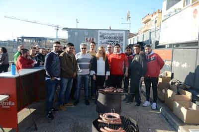 El club ha organitzat una botifarrada (Foto: Localpres).