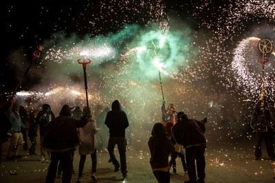 El Correfoc, un nou èxit de participació (foto: Localpres)