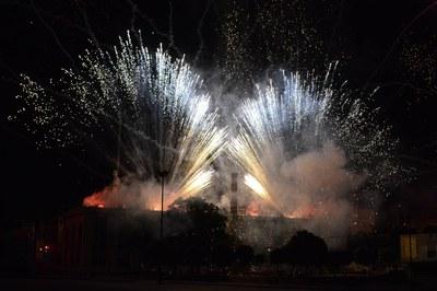 El Piromusical va posar el punt final a la festa (foto: Localpres)