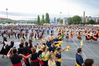 La Ballada de Gitanes al Carrer ha estat un dels moments més esperats de la celebració (foto: Localpres).
