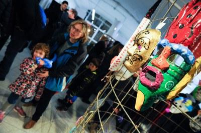 Exposició del 31è Concurs de màscares (foto: Ajuntament de Rubí - Localpres).