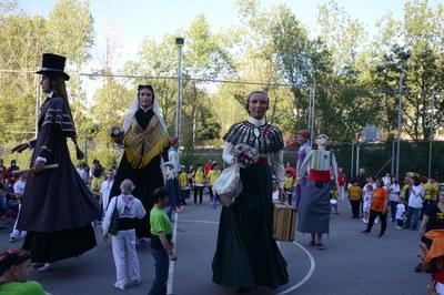 La cultura tradicional i popular ha estat la protagonista de la festa: (Foto: Localpres).