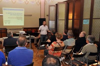 Al llarg de l'any, l'Ateneu Municipal organitza diversos cursos adreçats a les entitats de la ciutat.
