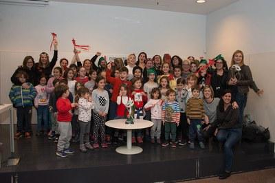 L'AMPA de l'Escola Schola ha guanyat el segon premi (foto: Localpres)