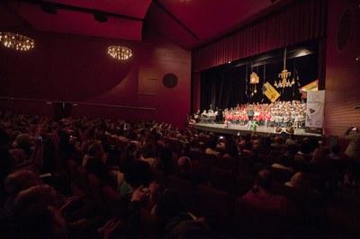 """Dins els actes del 35è aniversari de l'Escola Municipal de Música, La Sala va acollir al maig l'espectacle """"El Trencanous i el rei dels rats"""" (foto: Localpres) ."""
