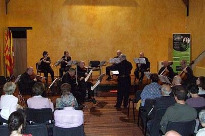 Un dels concerts de l'any passat (foto: Escola Municipal de Música Pere Burés).