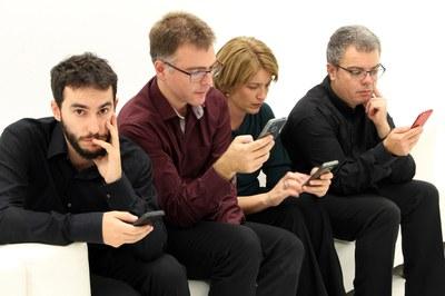 Imatge promocional del Quartet Brossa (foto cedida).