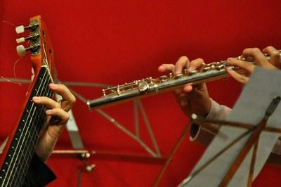 L'Escola Municipal de Música ofereix formació per a totes les edats (foto: Escola Municipal de Música Pere Burés).