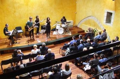 Un dels concerts del 2014 (foto: Escola Municipal de Música Pere Burés).