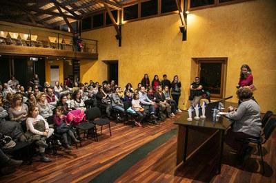 El jurat ha estat format per representants de grups de teatre i dansa amateur de la ciutat (foto: Ajuntament – Lali Puig)