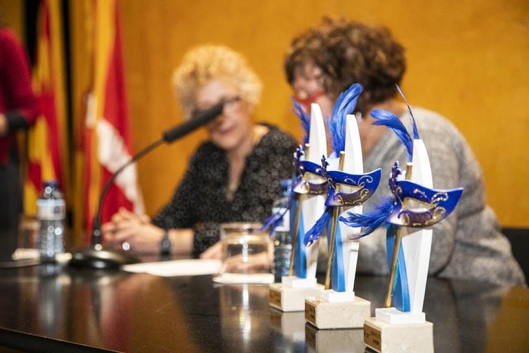Els premis s'han lliurat aquest dimarts al Museu Municipal Castell (foto: Ajuntament – Lali Puig)