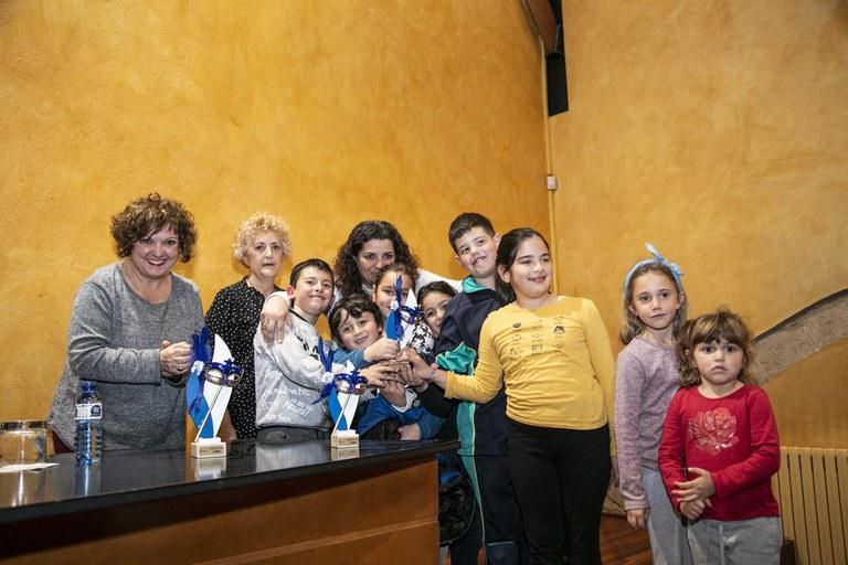 """La segona classificada ha estat la comparsa """"Un mar de plàstic quin fàstic"""", de l'AMPA de l'Escola 25 de Setembre (foto: Ajuntament – Lali Puig)"""