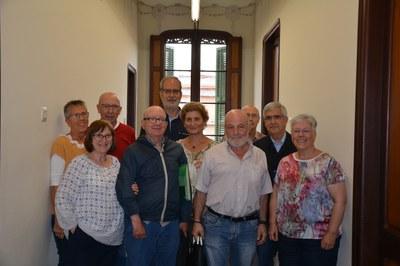 La junta de l'Aula d'Extensió Universitària (AEU) s'ha reunit aquest dimarts.