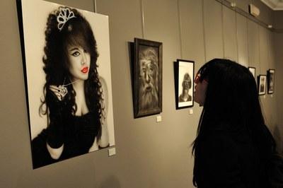 """Exposició """"Aerografia"""" (foto: Localpres)"""