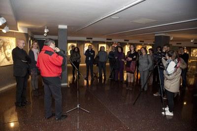 Inauguració de l'exposició (foto: Localpres)