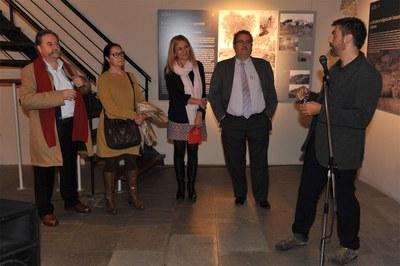 L'alcaldessa ha inaugurat l'exposició (foto: Localpres).