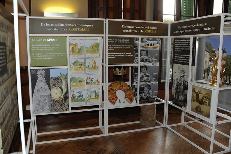 La mostra ocupa la planta baixa de l'Ateneu (foto: Localpres)