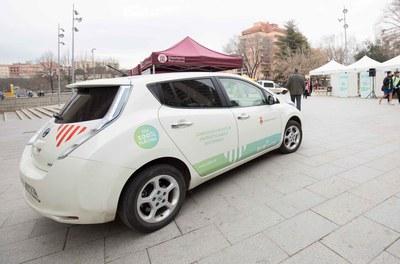 Vehicle elèctric municipal (Foto: Ajuntament/Localpres).