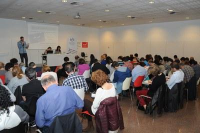L'any passat, una norantena de persones van participar al Dictat Solidari (foto: Localpres).