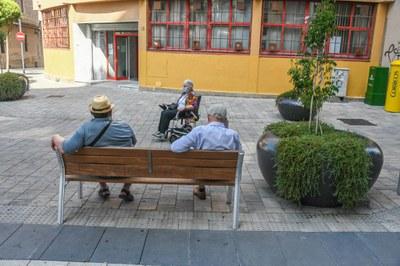 L'Oficina esdevé una via de contacte directe amb les persones grans de la ciutat (foto: Ajuntament de Rubí – Localpres).