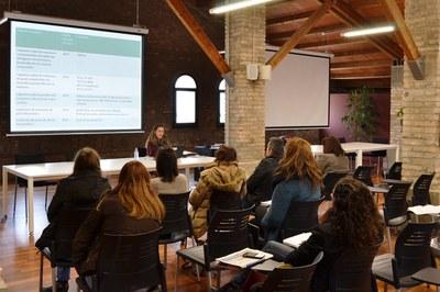 L'OSE també ofereix formació en el procés de creació de noves empreses.
