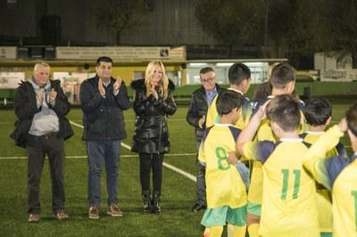 Un dels moments de la presentació al municipal de Can Fatjó (foto: Lali Puig).
