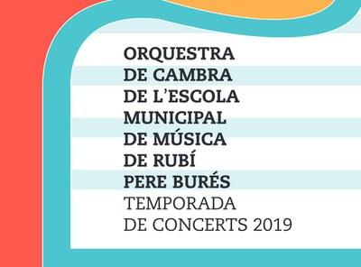 L'Orquestra de Cambra de l'Escola Municipal de Música Pere Burés enceta la temporada de concerts.