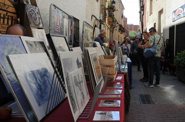 Els artistes locals han venut les seves obres (foto: Localpres)