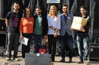 Lliurament dels premis del 15è Concurs de plaques de cava de Sant Galderic (foto: Localpres)