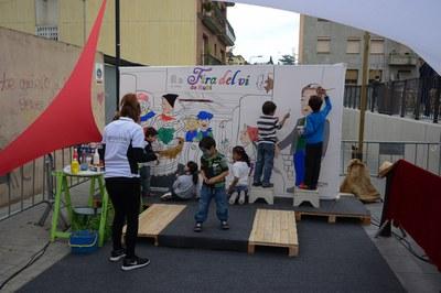 Mural participatiu (foto: Localpres)